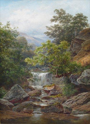 BANKS, Thomas J., (British, 1828-1896)