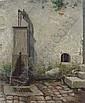 WARD, Edgar Melville, (Amer., 1839-1915), Edgar Melville Ward, Click for value