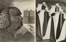 2 PHOTOGRAPHS OF MAN RAY WORKS