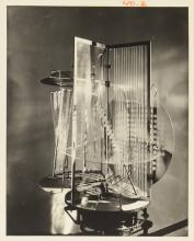PHOTOGRAPH OF LASZLO MOHOLY-NAGY WORK