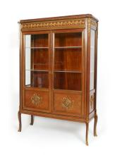 FRENCH STYLE ORMOLU DISPLAY CABINET
