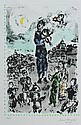 CHAGALL LITHOGRAPH CONCERT IN THE PARK