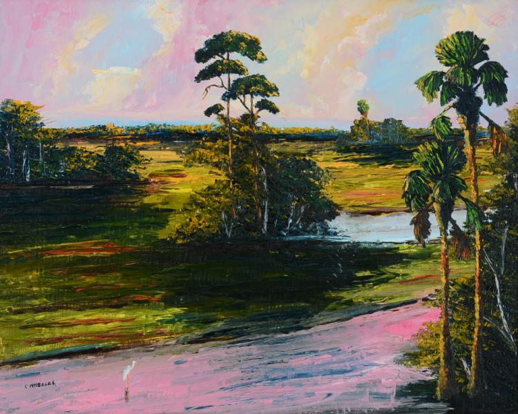 CHICO WHEELER FLORIDA HIGHWAYMEN PAINTING
