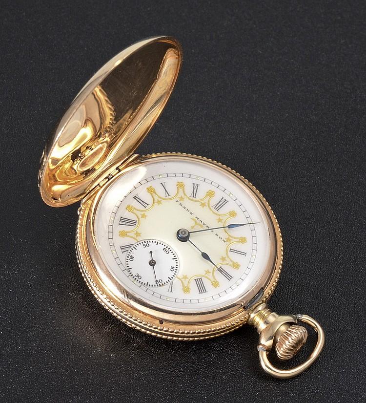 14k gold 1903 elgin pocket