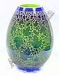 DUNCAN MCCLELLAN SIGNED ART GLASS VASE: 16'' high, Duncan McClellan, Click for value