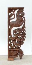 CARVED INDO-PERSIAN MYTHICAL BEAST CORBEL