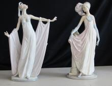 LLADRO SOCIALITE OF THE 20'S 5283 & GRAND DAME 1568