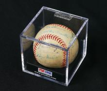 1960 NEW YORK YANKEES TEAM SIGNED BASEBALL