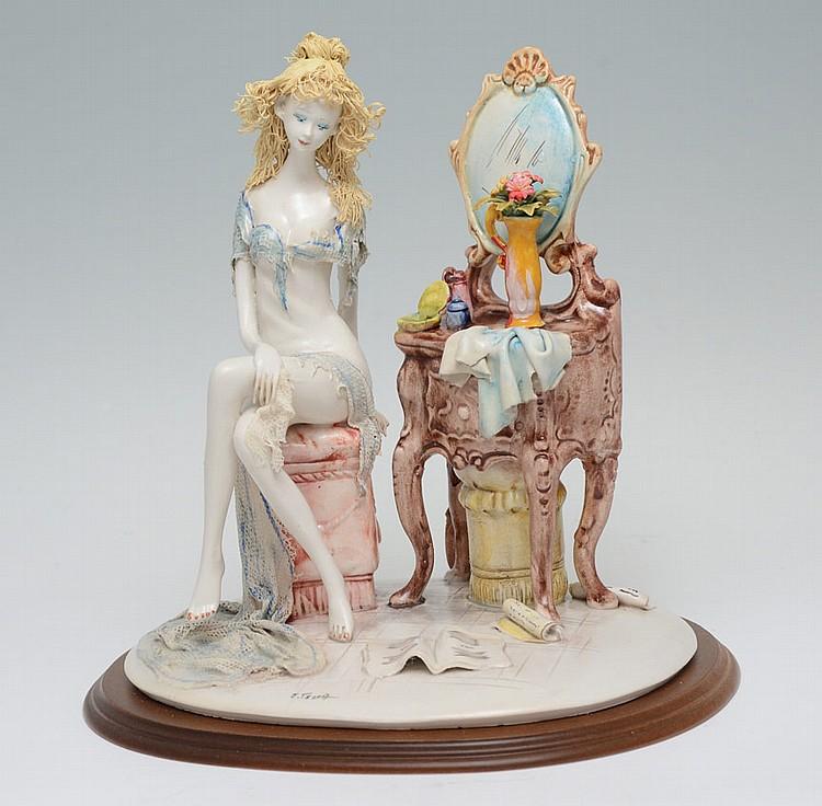 Emilio Tezza Italian Porcelain Figurine