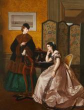 JOLLY HENRI BAPTISTE/LADIES DRAWING ROOM PAINTING