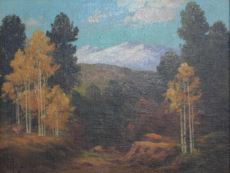 WILLARD PAGE COLORADO PAINTING