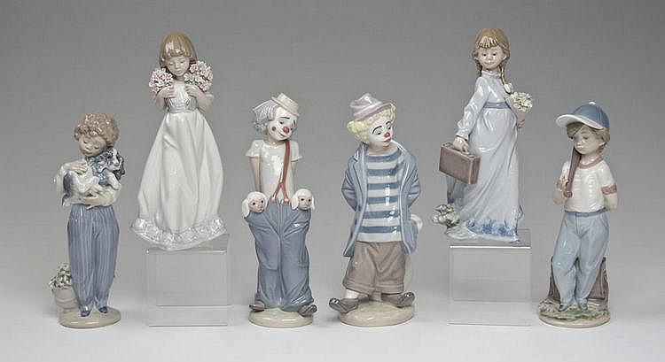 LLADRO PORCELAIN FIGURINES SOCIETY CLUB PIECES