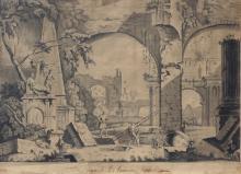 RUINES DE F L'ANCIENNE ROME 1814