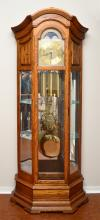 HOWARD MILLER MAJESTIC CURIO GRANDFATHER CLOCK