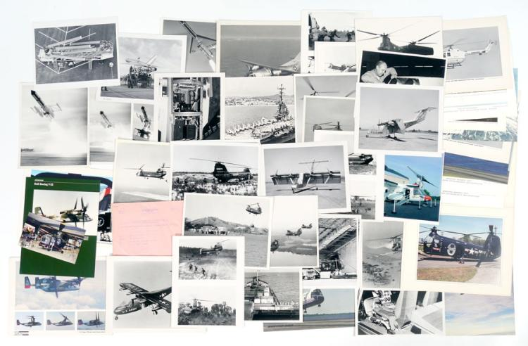 COLLECTION VINTAGE BOEING PHOTOGRAPHS OF AIRCRAFT