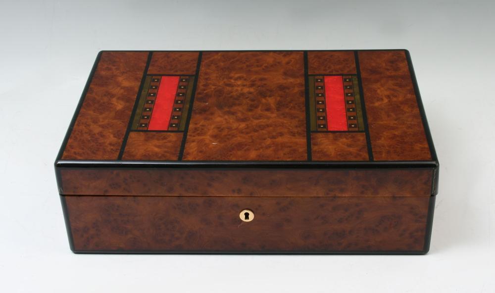2 PC. DOCUMENT BOX & HUMIDOR