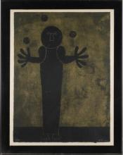 RUFINO TAMAYO MIXOGRAFIA ''THE JUGGLER''