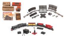 LIONEL 263E GUN METAL ENGINE & TENDER TRAIN SET