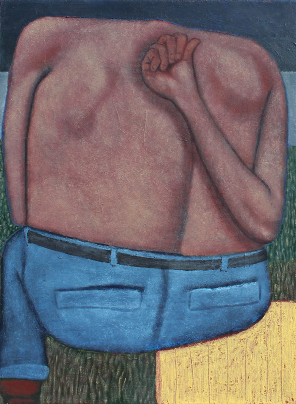 JEFF DONOVAN ORIGINAL PAINTING ''FAT BACK''