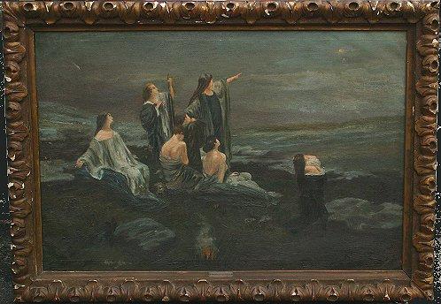 MENDLIK, Oszkar, Att., (Hungarian, 1870-1963)