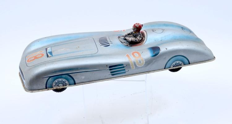 MERCEDES-BENZ 300SL TIN RACE CAR