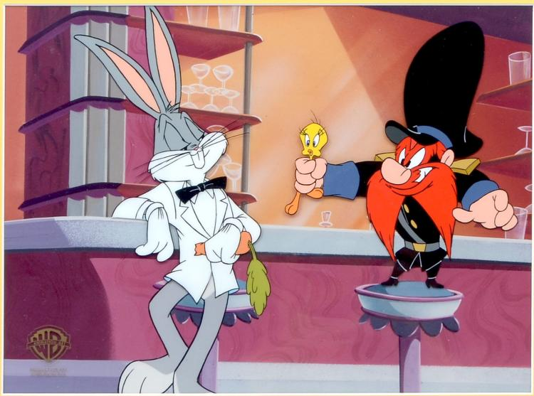 WARNER BROTHERS CEL FROM