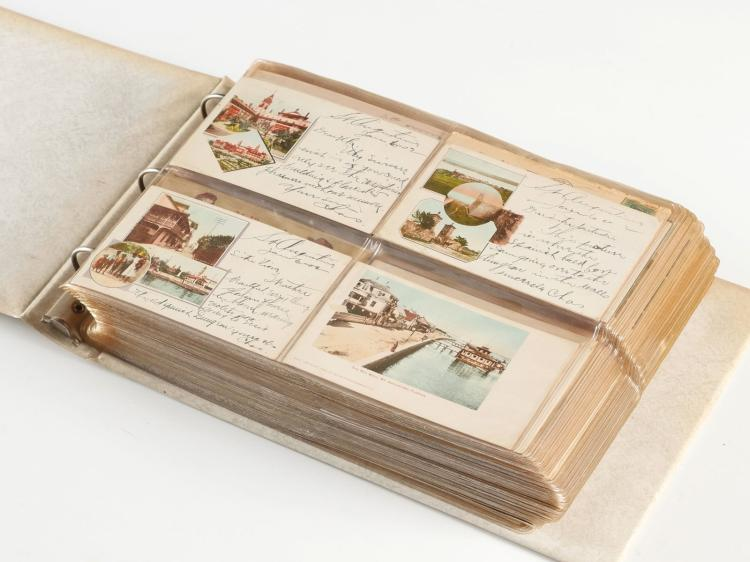 WOW 500+ POSTCARDS EARLY ST. AUGUSTINE FLORIDA