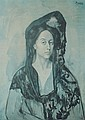 PICASSO LITHOGRAPH MADAME CANALS