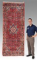APPROX. 45-75 YR. OLD N. W. PERSIAN HAND KNOTTED WOOL RUG