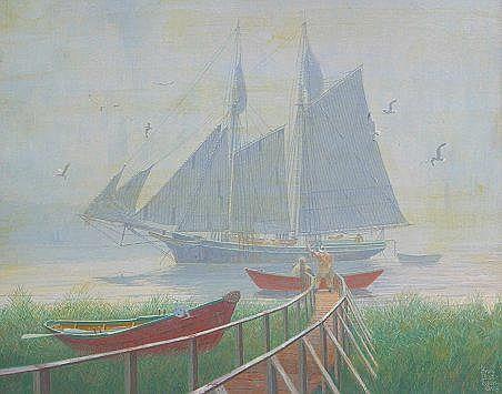ROBERTS, Bruce Elliot, American, 1910-): ''Going