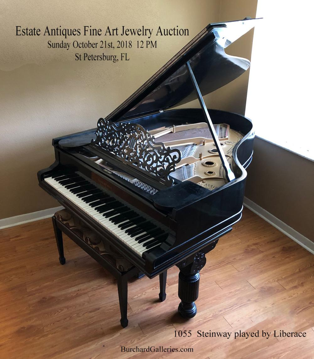 19th Century Steinway Baby Grand Piano