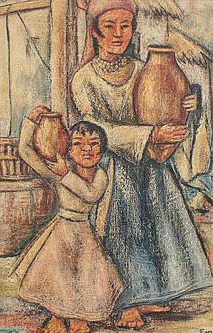 EGAS, Camilo, (Ecuadorian, 1899-1962): Water