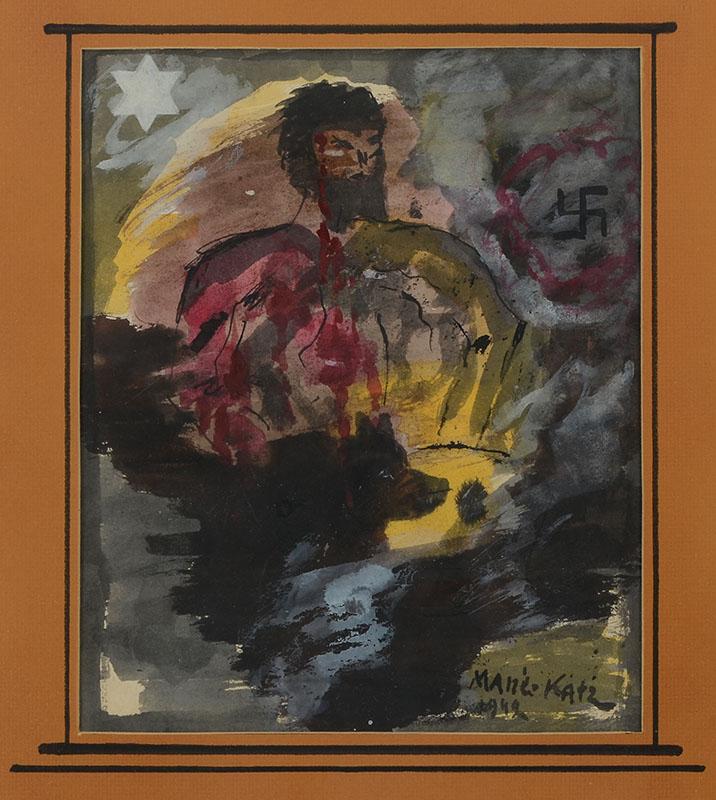 Mane katz allegorical painting for Katz fine art