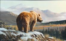 GRANT HACKING GRIZZLY BEAR PAINTING