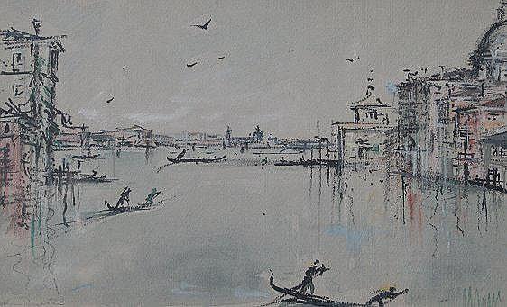 MARTINI, Bruno, (Italian, 1911-1979): Venetian