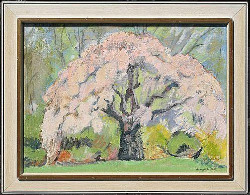 RATH, Hildegard, (American, 1909-): Landscape with