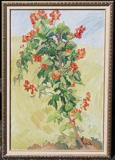 RATH, Hildegard, (American, 1909-): Tree,