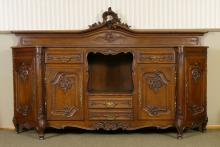 CARVED COUNTRY FRENCH SIDE BOARD