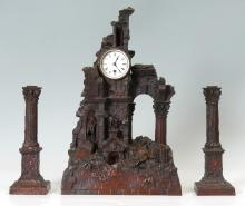 TIFFANY & CO. BRONZE ARCHITECTURAL CLOCK