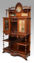 CARVED VICTORIAN ETAGERE