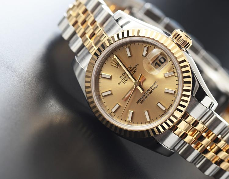 rolex 18k stainless like new