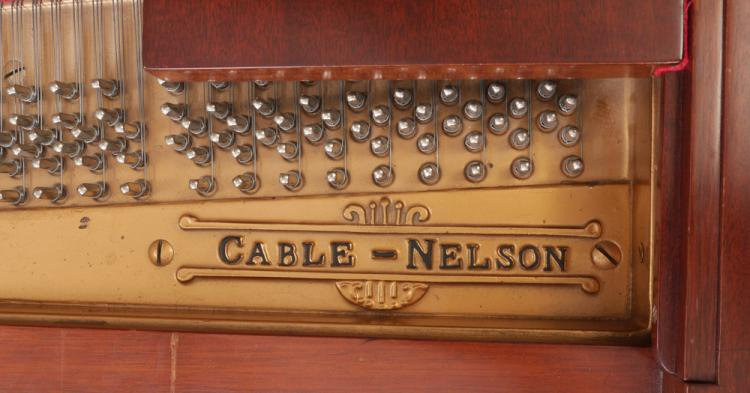 H0038 L93216598 cable nelson mahogany baby grand piano Antique Cable-Nelson Piano at pacquiaovsvargaslive.co