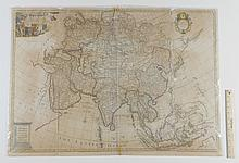 JOHN SENEX MAP OF ASIA