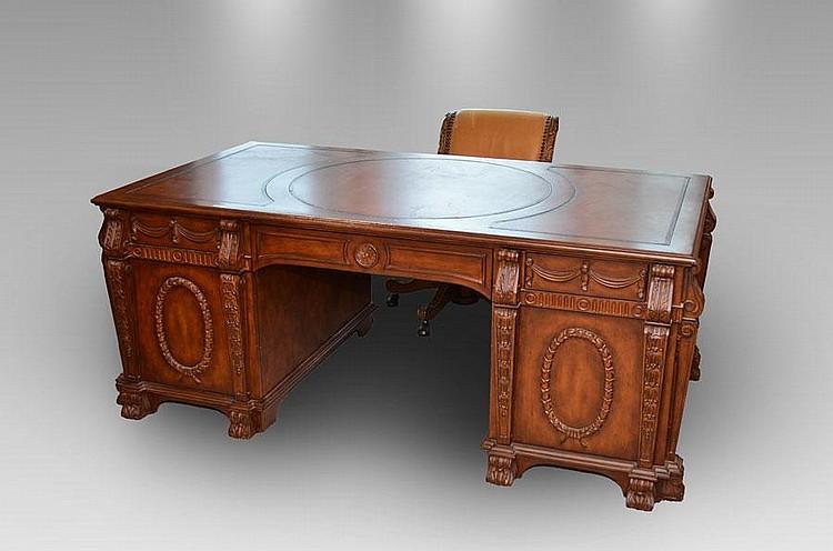 Cool Hooker Seven Seas Partners Desk With Chair Spiritservingveterans Wood Chair Design Ideas Spiritservingveteransorg