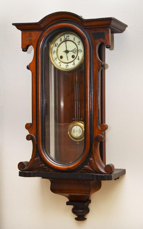 Wall Clock Art Nouveau : Kienzle art nouveau wall clock