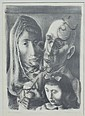 MITCHELL SIPORIN FAMILY PORTRAIT LITHOGRAPH, Mitchell Siporin, Click for value