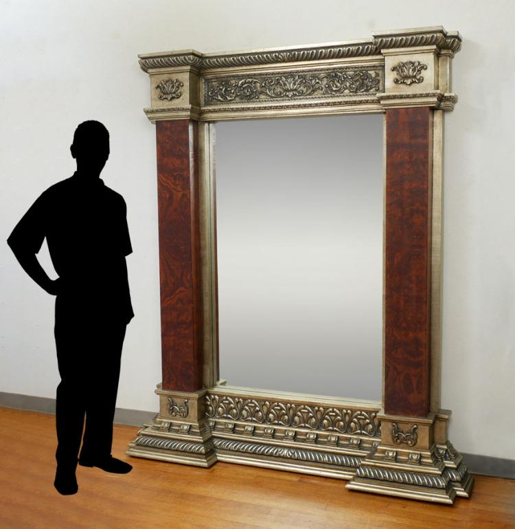 Large decorative floor pier mirror for Large decorative floor mirrors