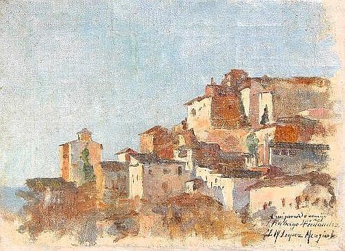 MEZQUITA, Jose Maria Lopez, (Spanish, 1883-1954):