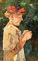 HERBST, Thomas, (German, 1848-1915): Portrait of, Thomas Ludwig Herbst, Click for value
