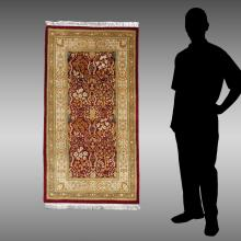 PERSIAN HK WOOL RUG, 2'6'' X 4'8''